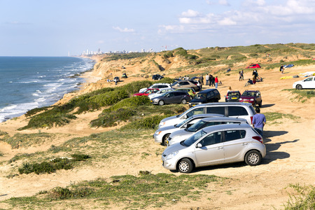 kilometres:  Arsuf coast about 15 kilometres north of modern Tel Aviv, Israel  Today this known place for training paragliders Editorial