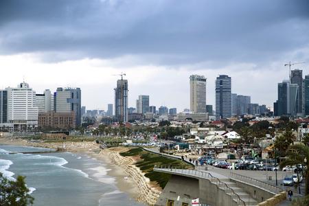 yaffo: Vista panor�mica sobre Tel-Aviv desde Yaffo, Israel