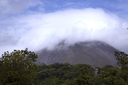 historically: Arenal Volcano is an active andesitic stratovolcano Costa Rica  Arenal is one of seven historically active Costa Rican volcanoes