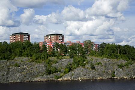 peacefull: Landscape on Stockholm archipelago in Baltic sea
