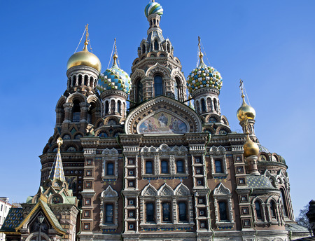 mortally: Church of the Savior on Spilled Blood was erected in 1883-1907, in place, where on March, 1, 1881 mortally scotched Tsar-liberator Alexander II . St. Petersburg, Russia