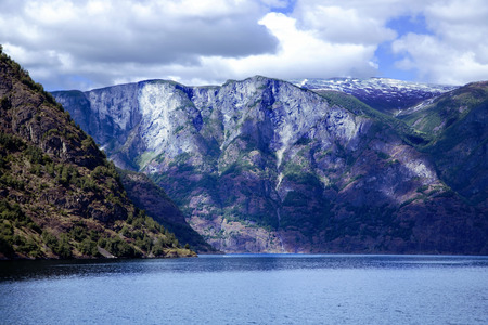 Wonderful landscape in Lysefjord, Norway. photo