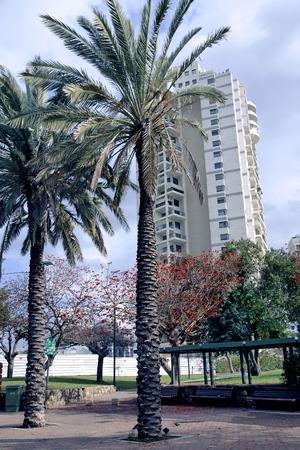 yam israel: Modern multistory newest architecture in Bat Yam Israel