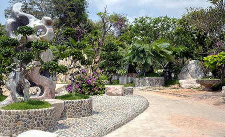 MILLION: The Million Years Stone Park in Pattaya, Thailand