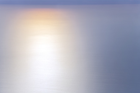 altitude: Tender colors of sunset above the Pacific ocean, an altitude of 1000 m above the Earth