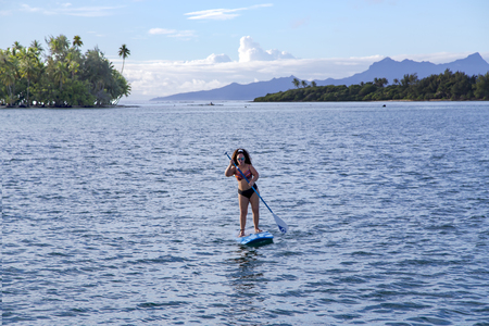 Stand up paddle femme