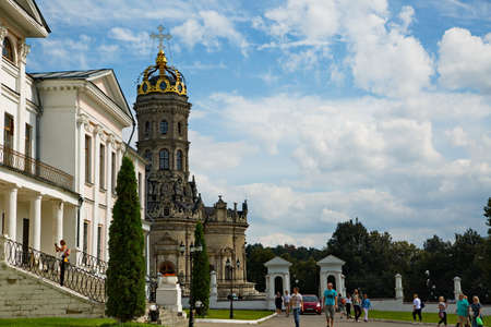 The Dubrovitsy estate is a historical monument of the Podolsk district of the Moscow region, Russia.