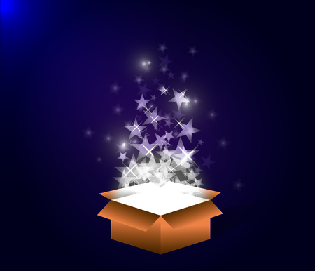 mistery: Mistery box Illustration