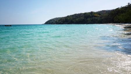 Scenic view of sea.