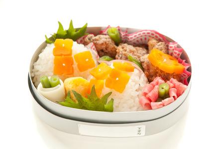 Lunch of hydrangea motif