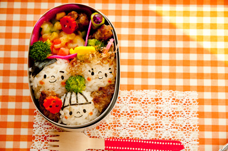 healthy lunch: Lunch family of motif