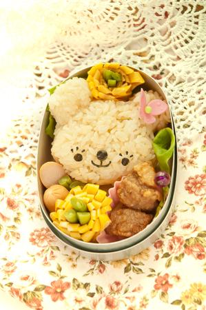 Lunch of bear motif