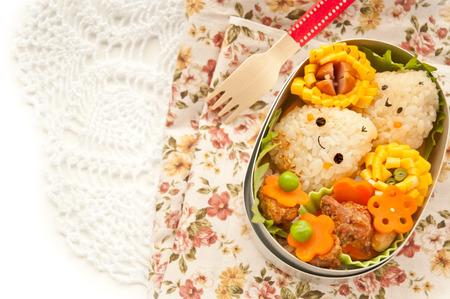 Lunch of chestnut Morifu
