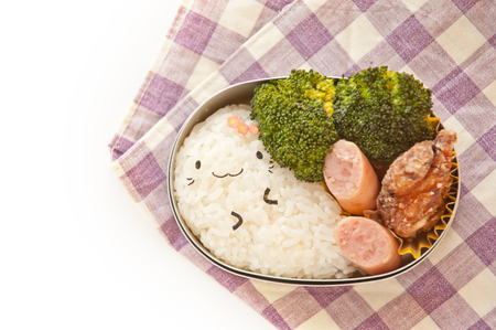 Lunch of seal motif