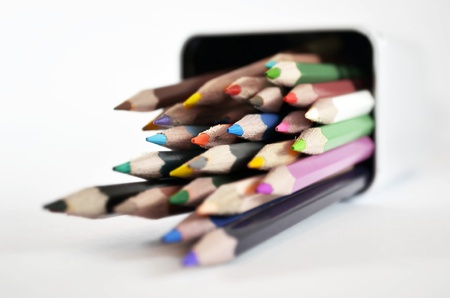 colour pencils photo