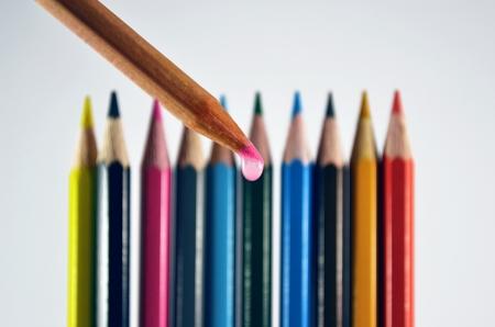 colour pencils photo