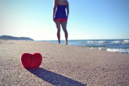 corazon roto: forma de coraz�n