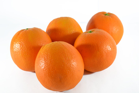 oranges isolated
