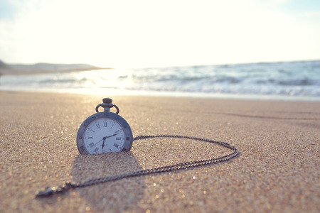 sands of time: time clock Stock Photo