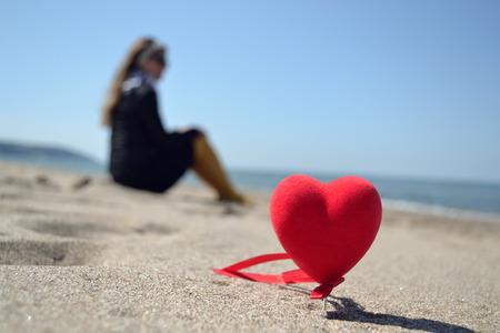 wants: a girl who wants love Stock Photo