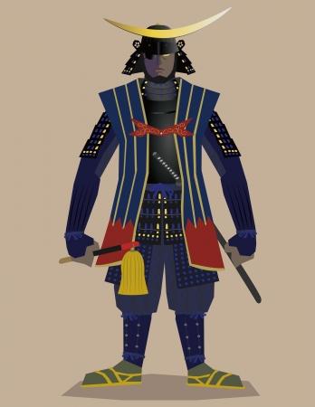 samurai general  Stock Vector - 13793026