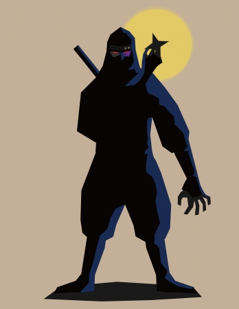 ninja Stock Vector - 13793022