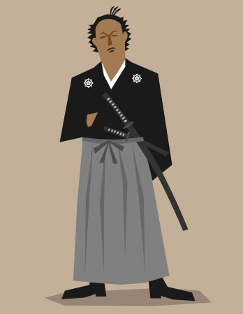 trooper: Samurai revolutionist  Illustration