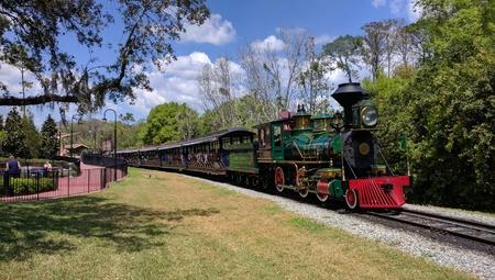Walt Disney World Railroad at the Magic Kingdom