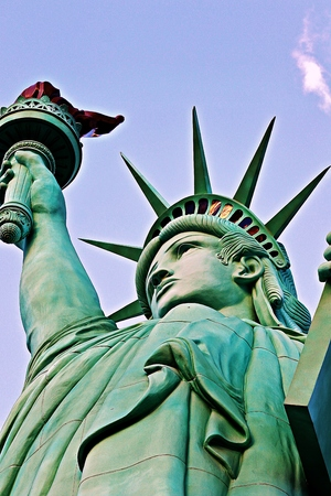presidents' day: The Statue of Liberty