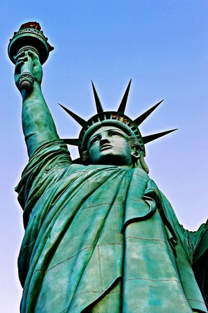 president's day: The Statue of Liberty