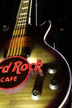 siegel: LAS VEGAS - Hard Rock Cafe, as seen on Oct, in Las Vegas.