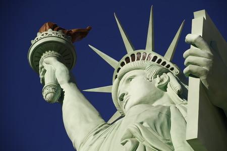 The Statue of Liberty, America, American, United states, Manhattan, Las Vegas, Paris Stock Photo