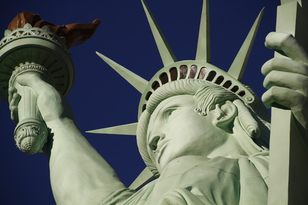 The Statue of Liberty, America, American, United states, Manhattan, Las Vegas, Paris Stock Photo