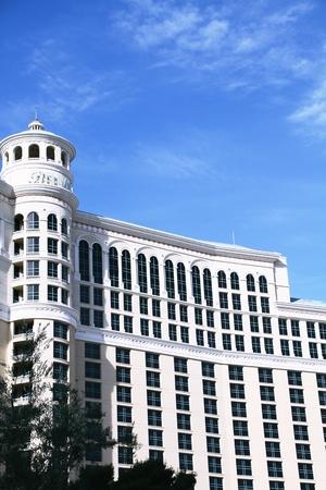siegel: LAS VEGAS NV, USA-Oct 28: The Bellagio at evening on Oct 28, 2015 in Las Vegas, USA.