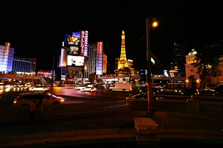 siegel: Las Vegas, USA-October 10, 2016: Ballys Las Vegas, formerly the MGM Grand Hotel and Casino is a hotel and casino on the Las Vegas Strip in Paradise, Nevada, USA Stock Photo