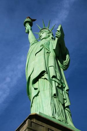 La estatua de la libertad, América, símbolo americano, Estados Unidos, Nueva York Foto de archivo