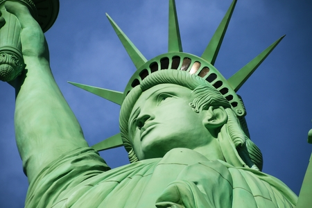 The Statue of Liberty, America, American Symbol, United states, New York Stock Photo