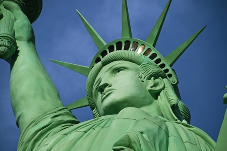 The Statue of Liberty, America, American Symbol, United states, New York Stock Photo