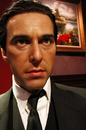 LOS ANGELES, CA-28 Oct 2013: Alfredo James Pacino waxwork figure-Madame Tussauds Hollywood.