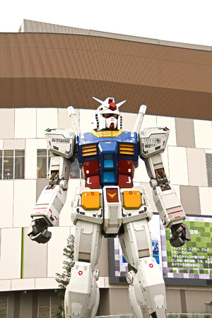 Full size Gundam Performances Outside DiverCity Tokyo Plaza, and Odaiba. 新聞圖片