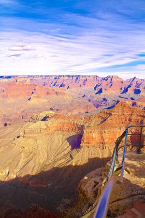 Rock formations in a canyon, Grand Canyon, Grand Canyon National Park, Arizona, USA.