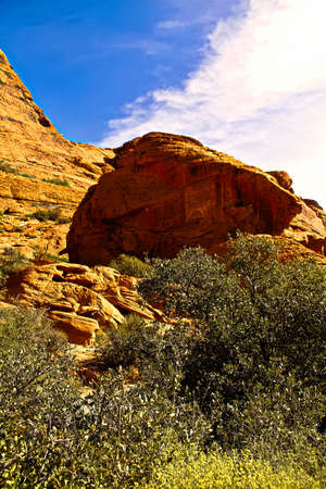 Red Rock Canyon State Park features scenic desert cliffs, buttes and spectacular rock formations. The park is located where the southern tip of the Sierra Nevada converges with the El Paso Mountains.