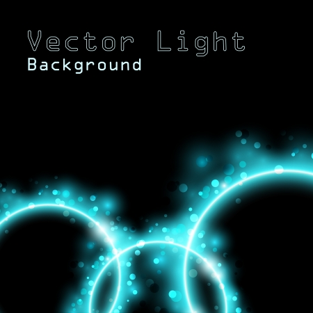 Abstract glowing background with place for text Vector