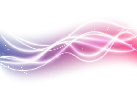 Light background with abstract wave