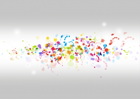 Art paint background Vector