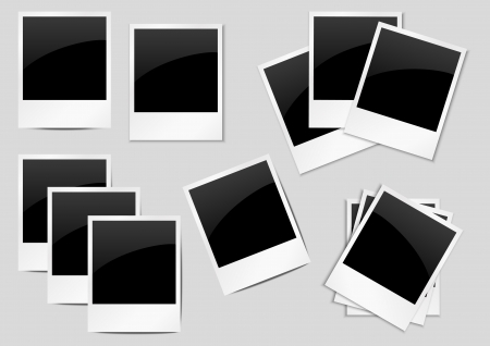 Set of polaroid backgrounds for your design Stock Vector - 14941733