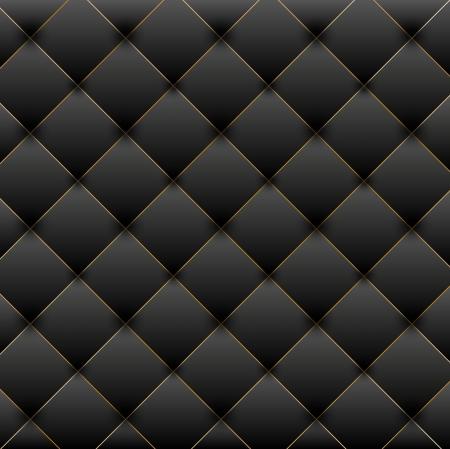 tissu or: Illustration de fond noir de luxe