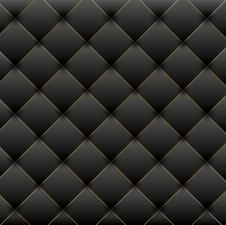 sofa viejo: Lujo ilustraci�n de fondo negro Vectores
