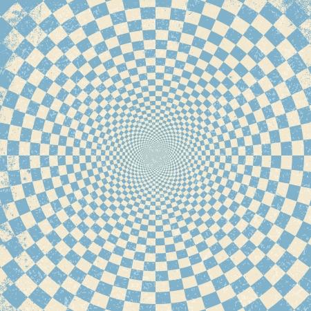 hypnotique: illustration de fond d'illusion optique Illustration