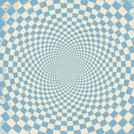hypnotic:  illustration of optical illusion background